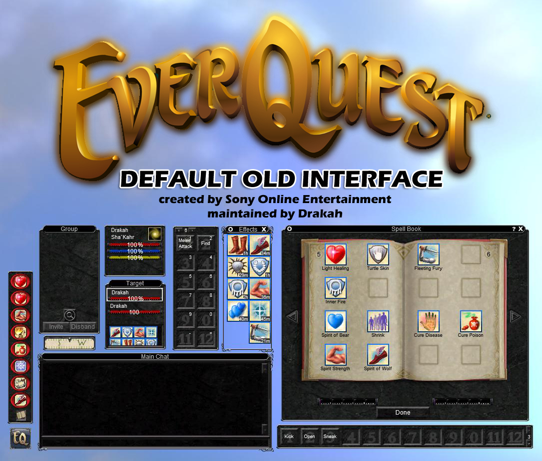 Default Old Interface